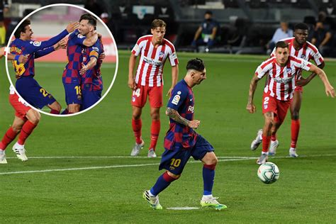 Watch Messi score 700th goal with panenka vs Atletico ...