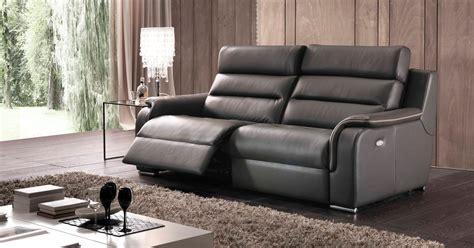 l univers du canape cinzia relaxation ou fixe personnalisable sur univers du cuir
