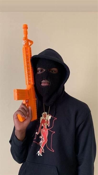 Ski Masks Aesthetic Boy Bad Badass Gun