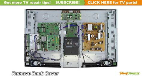 Mitsubishi Lcd Tv Repair How To Replace T Con Boards Lj94