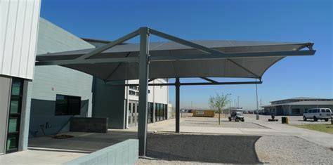 metal canopy cantilever shades shade n