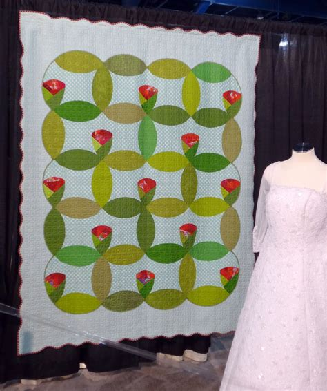 Artisan Findlay Wolfe by Findlay Wolf Anneaux De Mariage Quilts Flower