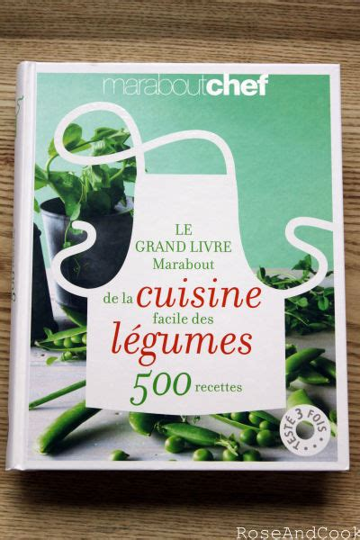 livre de cuisine marabout le grand livre marabout de la cuisine facile des légumes