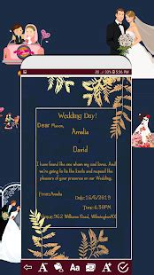 Invitation card maker free Greeting card design for