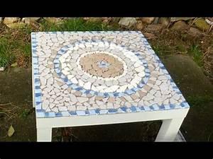 Mosaik Selber Machen : diy mosaiktisch aus fliesenresten mandala ooffenbar youtube mosaic ideas pinterest ~ Orissabook.com Haus und Dekorationen