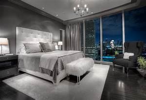 20 Beautiful Gray Master Bedroom Design Ideas - Style ...