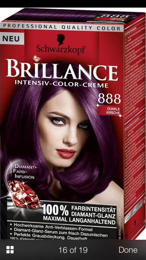 dark cherry violet burgundy boxed hair colors