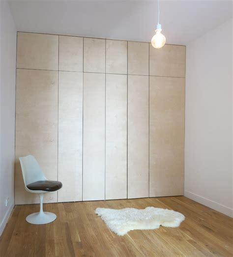renover des armoires de cuisine rénovation d 39 un appartement parisien chambre moderne