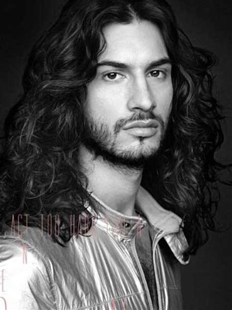 hot long haired men hairstyle ideas
