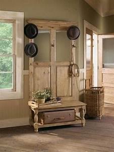 Garderobe Alte Tür : garderobe aus alten brettern die sch nsten einrichtungsideen ~ Michelbontemps.com Haus und Dekorationen