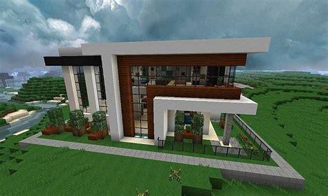 Minecraft Small Modern House Blueprints — Modern House