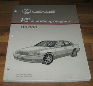 1997 Lexus Gs300 Electrical Wiring Diagram Shop Repair
