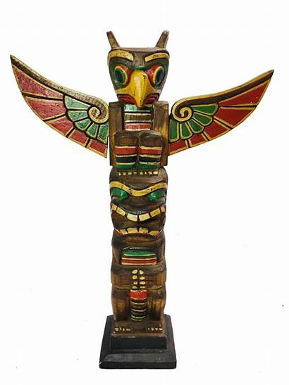 Totem Pole Carving Various Sizes Ttp
