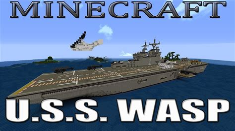 Boat Shipping Arizona by Minecraft U S S Wasp Lhd1 Hibious Assault Ship