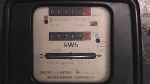 Kwh Meter D3ybd On Phantom Load