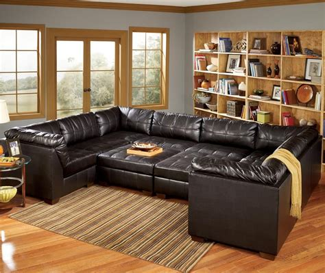 san marco  piece  shaped sectional  signature design  ashley lapeer furniture