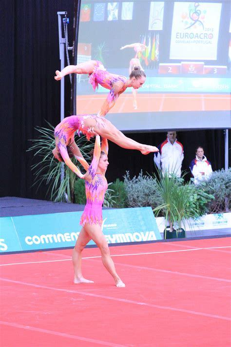 Acro European Championships 2019 Silver Medal Junior Women