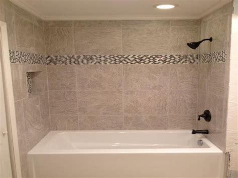 Pictures Of Bathroom Tile Designs by Bathroom Tile Designs Around Bathtub Ideas 2017 2018