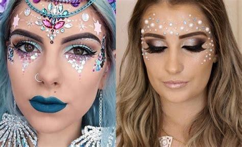 glitzer make up fasching schminken zum fasching 76 inspirierende beispiele f 252 r den perfekten karneval look