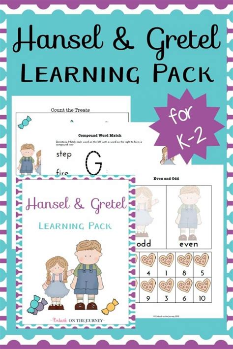 hansel  gretel printables  homeschool deals