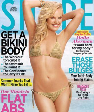 allison miller swimsuit malin akerman bikini photos in shape magazine shape magazine