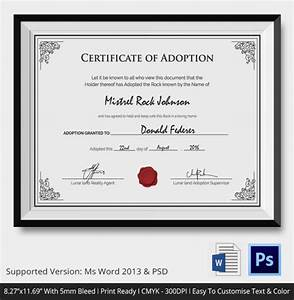Adoption certificate template 12 free pdf psd format download free premium templates for Printable adoption certificate