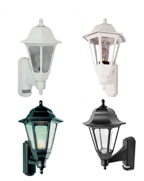 asd coach lantern black or white standard or pir