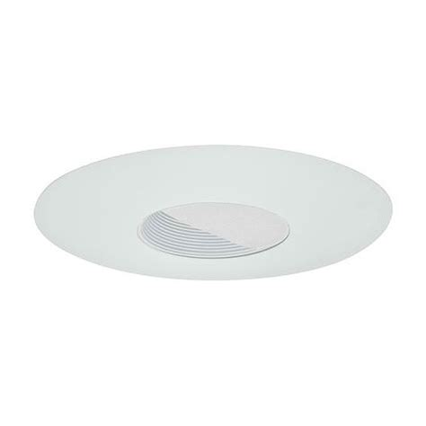 6 quot low voltage recessed lighting white baffle white wall