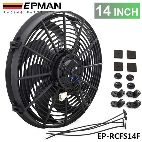 electric radiator fans for cars tansky new 14 quot inch electric epman universal