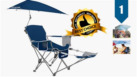 sport brella recliner chair upc best covered sports chairs with shade canopy for outdoor