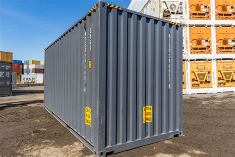 cube container conteneur pdf neuf containers storage 20ft ats fiche technique