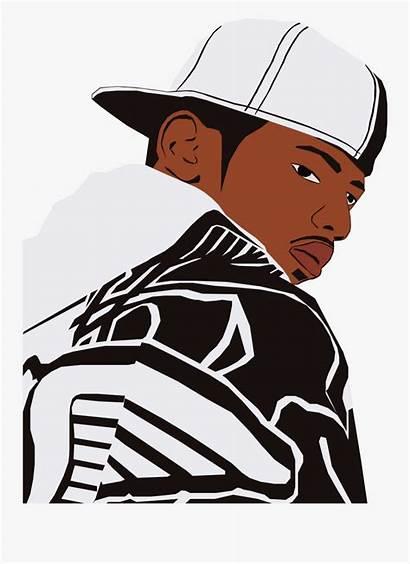 Hop Hip Cartoon Rap Rapper Clipart Transparent