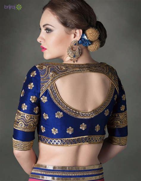 amazing saree blouse  designs sari blouse designs