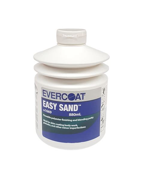 Easy Application by Evercoat Easy Sand Flowable