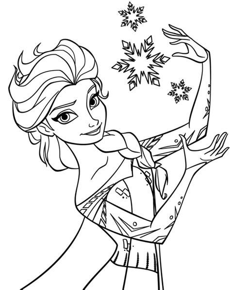 15+ gambar sketsa untuk belajar anak dalam mewarnai gambar. Gambar Mewarnai Frozen - Kreasi Warna