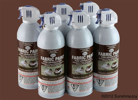 Upholstery Fabric Paint Walmart by Upholstery Fabric Spray Paint 6 Pack Brown Car Auto Rv