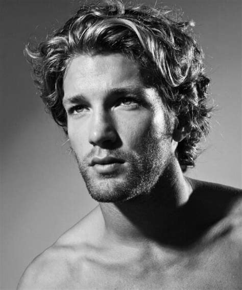 medium length wavy mens hairstyles 45 suave hairstyles for men with wavy hair to try out