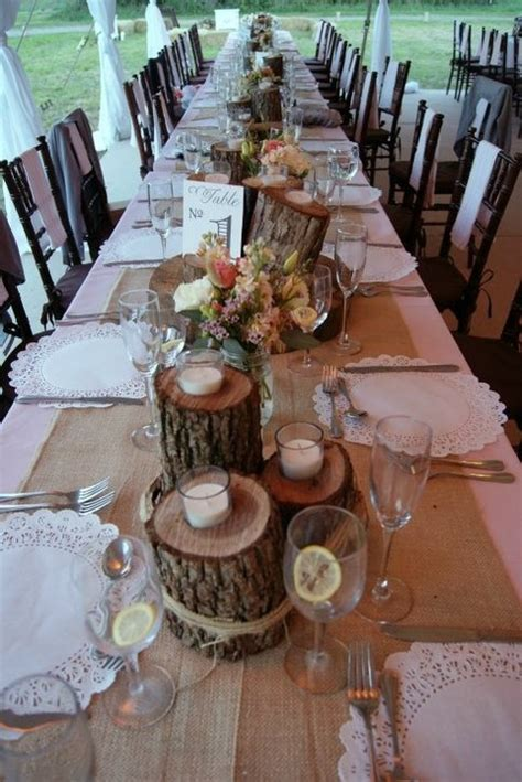 country wedding table decorations rustic wedding décor ideas decozilla