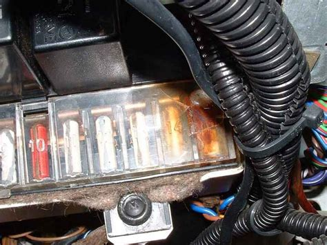 Car Fuse Box Melted by Realy Realy Bad Dme Burnt Help Pelican Parts Forums