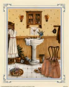 art wall decor bathroom artwork vintage bathroom art