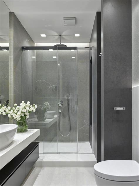Modern Apartment Bathroom by Home For A Pianist In Moscow Bathroom Bathroom