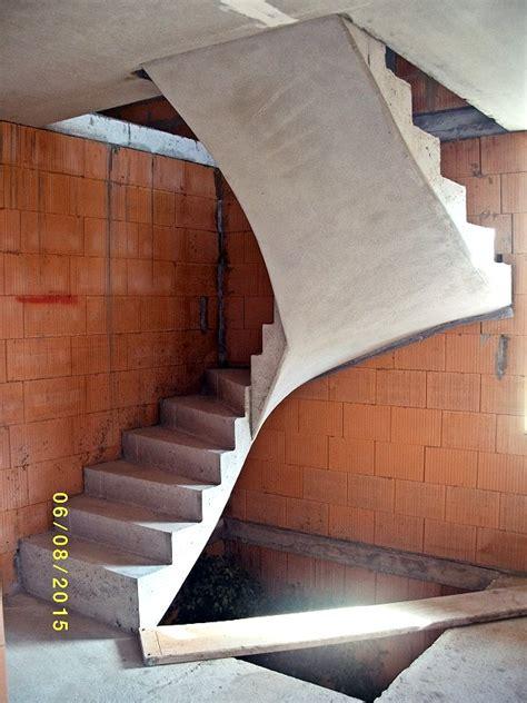 1 2 gewendelte treppe gescho 223 treppen baubetrieb norbert kubasch treppenbau mit ortbeton ortbetontreppenbau in sachsen