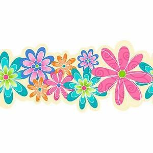 Flower Border Line - ClipArt Best
