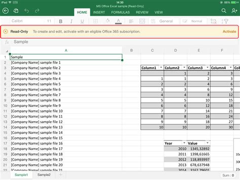 Or Exle by Collaborate Using Microsoft Excel For App On