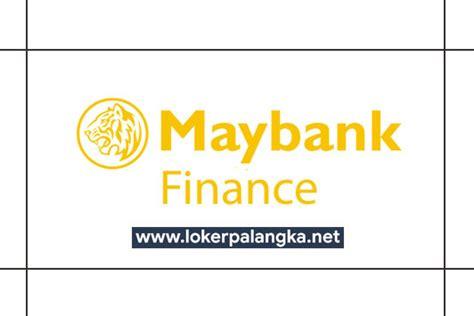 lowongan kerja pt maybank indonesia finance palangka raya