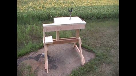 rifle shooting bench  hpfirearms youtube