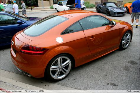 audi tts  samoa orange metallic benlevycom