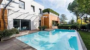 Luxury, Modern, Villa, In, Rome