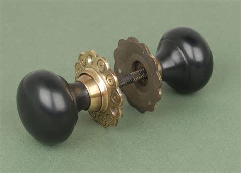 solid brass door knobs pair of solid bun door knobs handles with solid