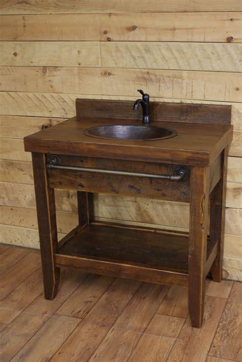 reclaimed timber  vanity reclaimed  rustic vanities mirrors pinterest reclaimed